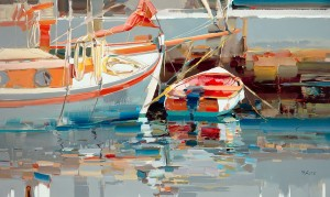Paintings by Josef Kote are on view at Galeria de Mar, 9 King St. The New York-based artist will be in St. Augustine May 30-31.