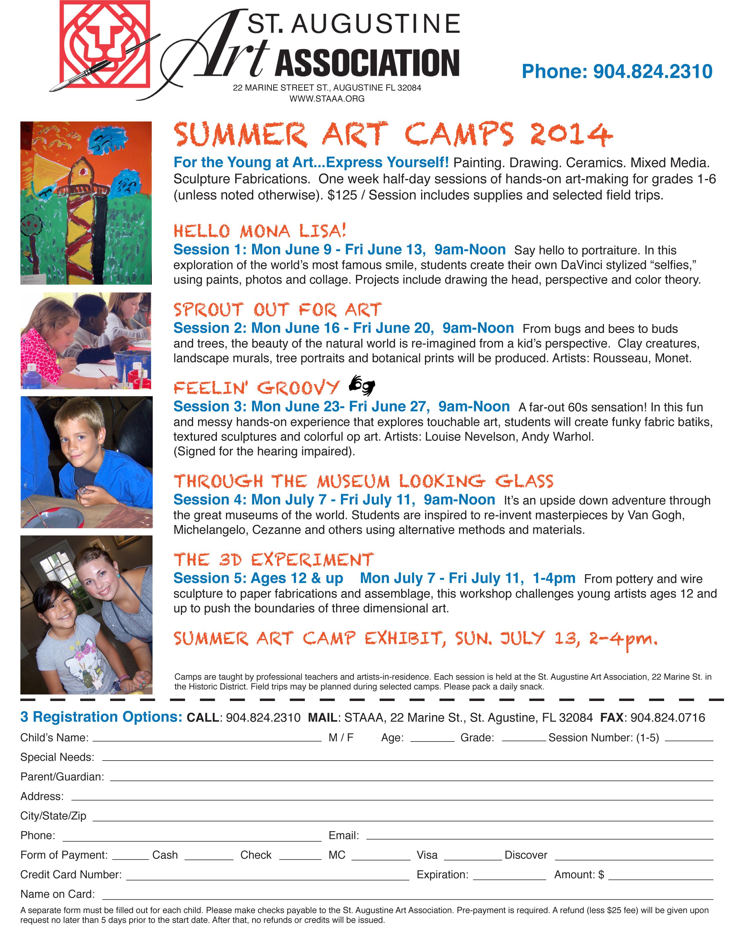 1 art camp