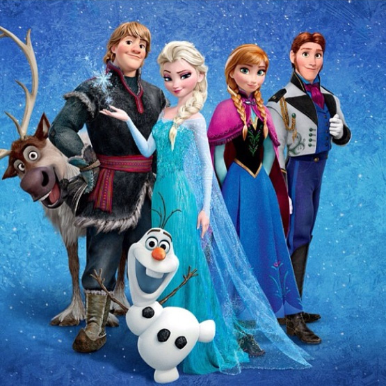 Frozen will be on screen.