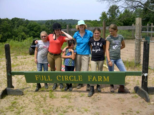 1 full circle horse camp