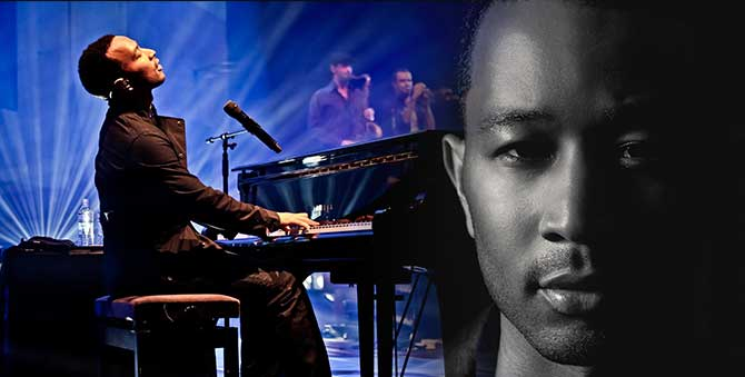 John Legend will perform July 25 at the St. Augustine Amphitheatre. Tickets will go on sale at 10 a.m. June 6.