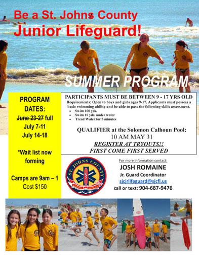 1 lifeguard camp