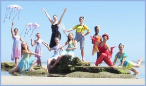 """Students in the St. Augustine Dance Conservatory will perform """"The Mermaid Princess"""" May 31 and June 1 at Lewis Auditorium at Flagler College."""