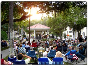 Concerts in the Plaza begin at 7 p.m. Thursday, May 29 and continue each Thursday through Aug. 28.