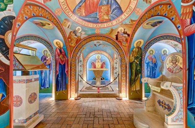 St. Photios Greek Orthodox National Shrine. Photo by  StevenHyattPhotography.com