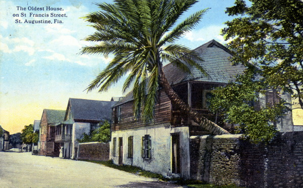1 oldest house postcard
