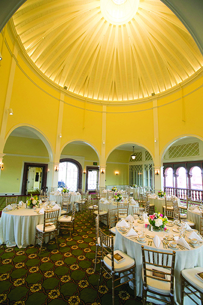 Tours are available of the Flagler College solarium.