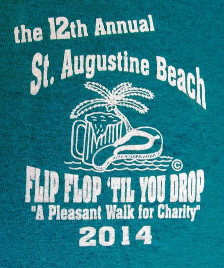 You Flip Flop T-Shirt is your ticket to this year's benefit. Contributed photo