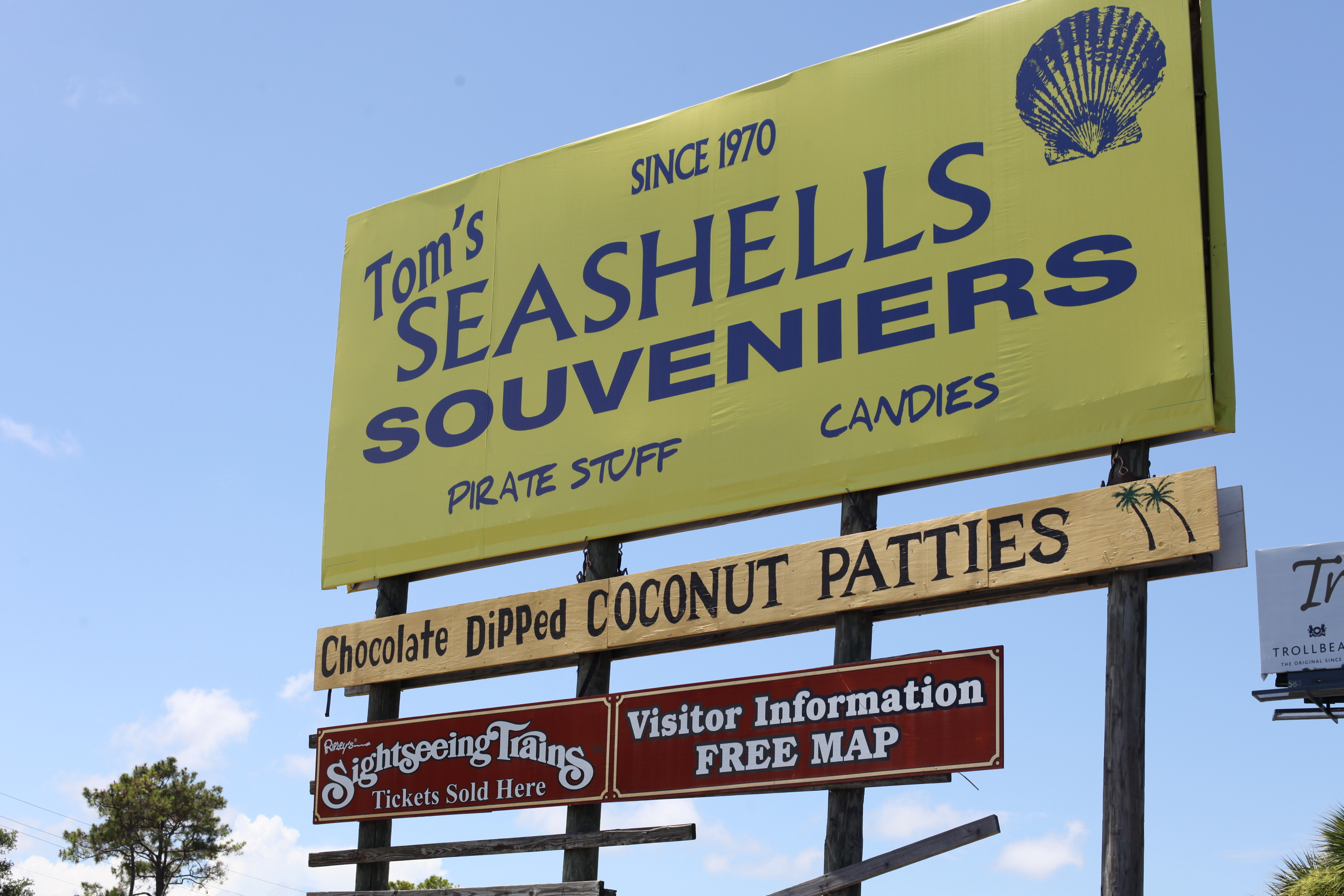 Tom's Seashells, 1812 A1A South, also known as Tom's Fruits & Gifts has been open since 1970 near St. Augustine Beach. Photos by RENEE UNSWORTH