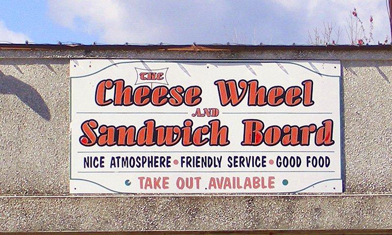 1 cheese wheel
