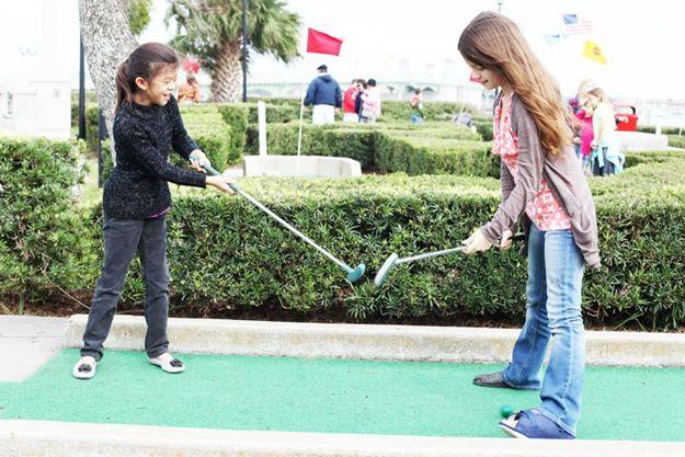 1 mini golf