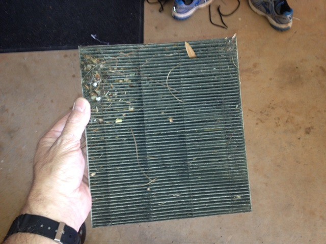 Air filter (photo by Ed Albanesi)