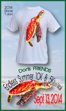 Endless Summer Run Sept. 13 is a fundraiser for Don's Friends and Friends of Anastasia State Park
