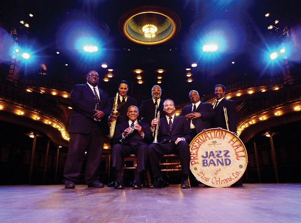 The Preservation Hall Jazz Band will open the EMMA Concert Association new season on Sept. 20 at Lewis Auditorium at Flagler College, downtown St. Augustine. Contributed image
