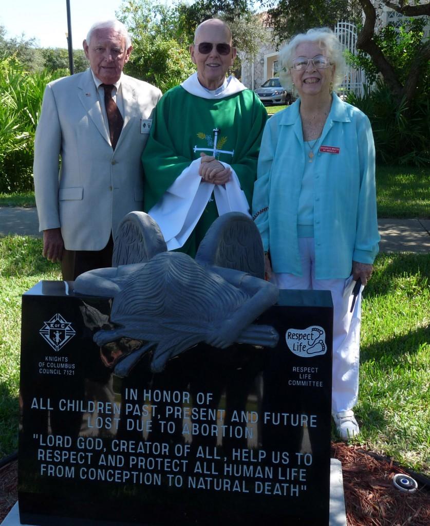 Memorial Dedicated At St. Anastasia