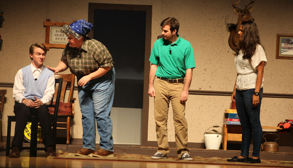 "Students from Ponte Vedra High School will stage ""The Foreigner"" Oct. 30-Nov. 1 at the school. See details below. Photo by Renee Unsworth"