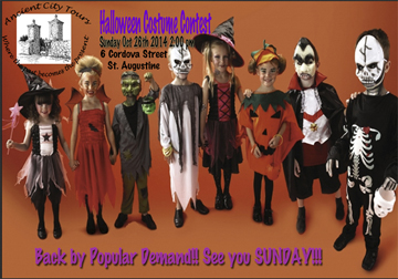 Costume contest and trick-or-treating Oct. 26 on St. George Street