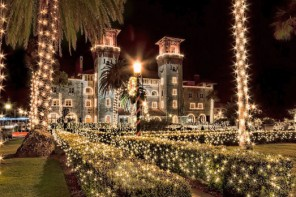 Nov. 14, 2020-Jan. 31, 2021: 27th annual Nights of Lights in St. Augustine, Florida