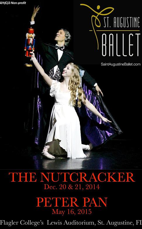 Saint Augustine Ballet's 2014 Nutcracker tickets now available online