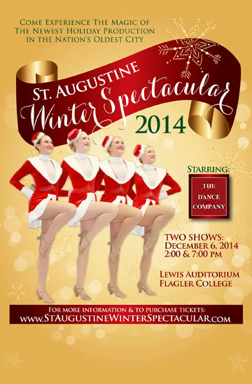 St. Augustine Winter Spectacular dance show set for Dec. 6