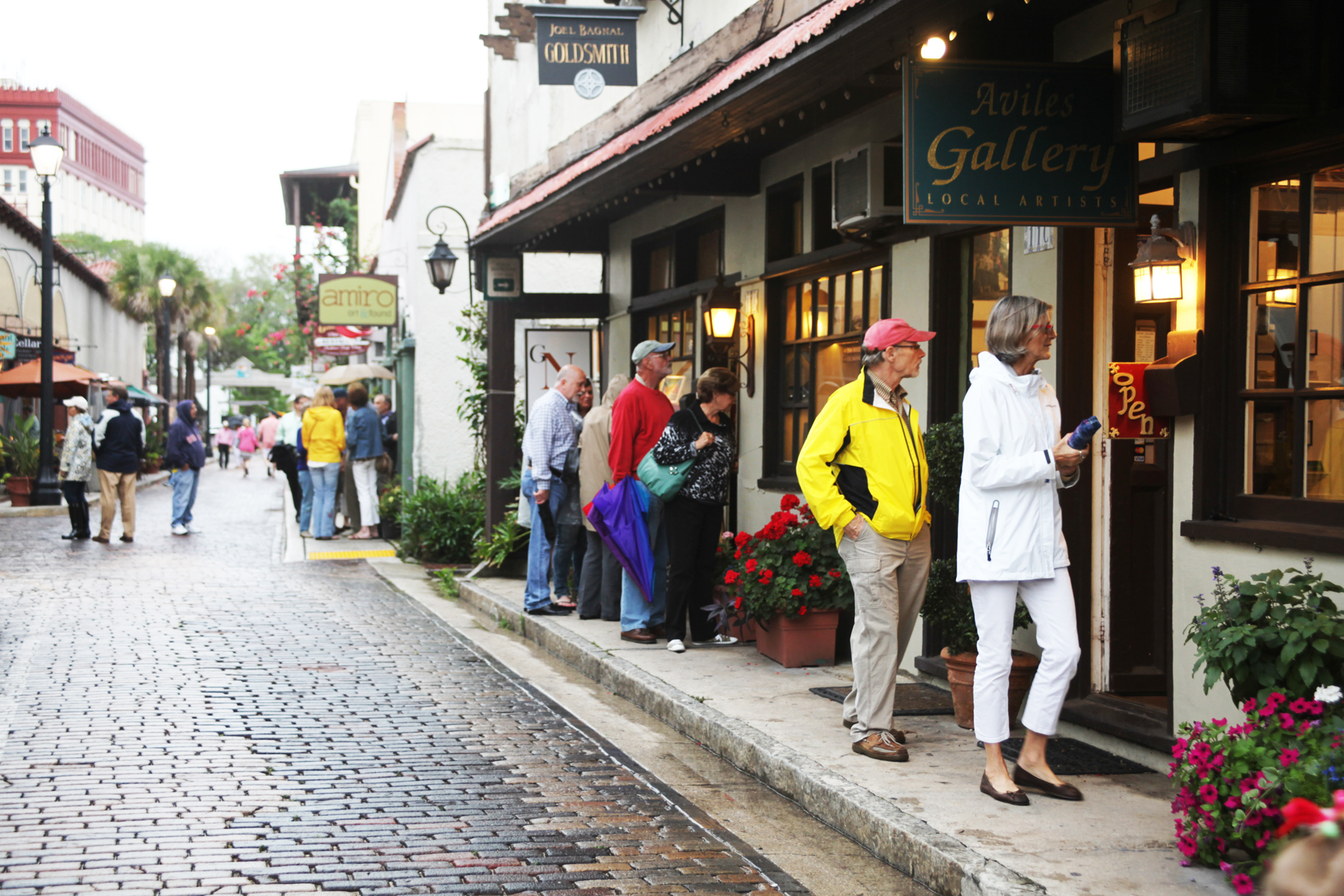 First Friday Art Walk is from 5 to 9 p.m. Friday, Feb. 6 in St. Augustine galleries. Admission is FREE. See more details in the event listing below. Photo by Renee Unsworth