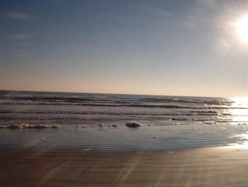 Tranquil St. Augustine Beach. Photo by LORRAINE THOMPSON