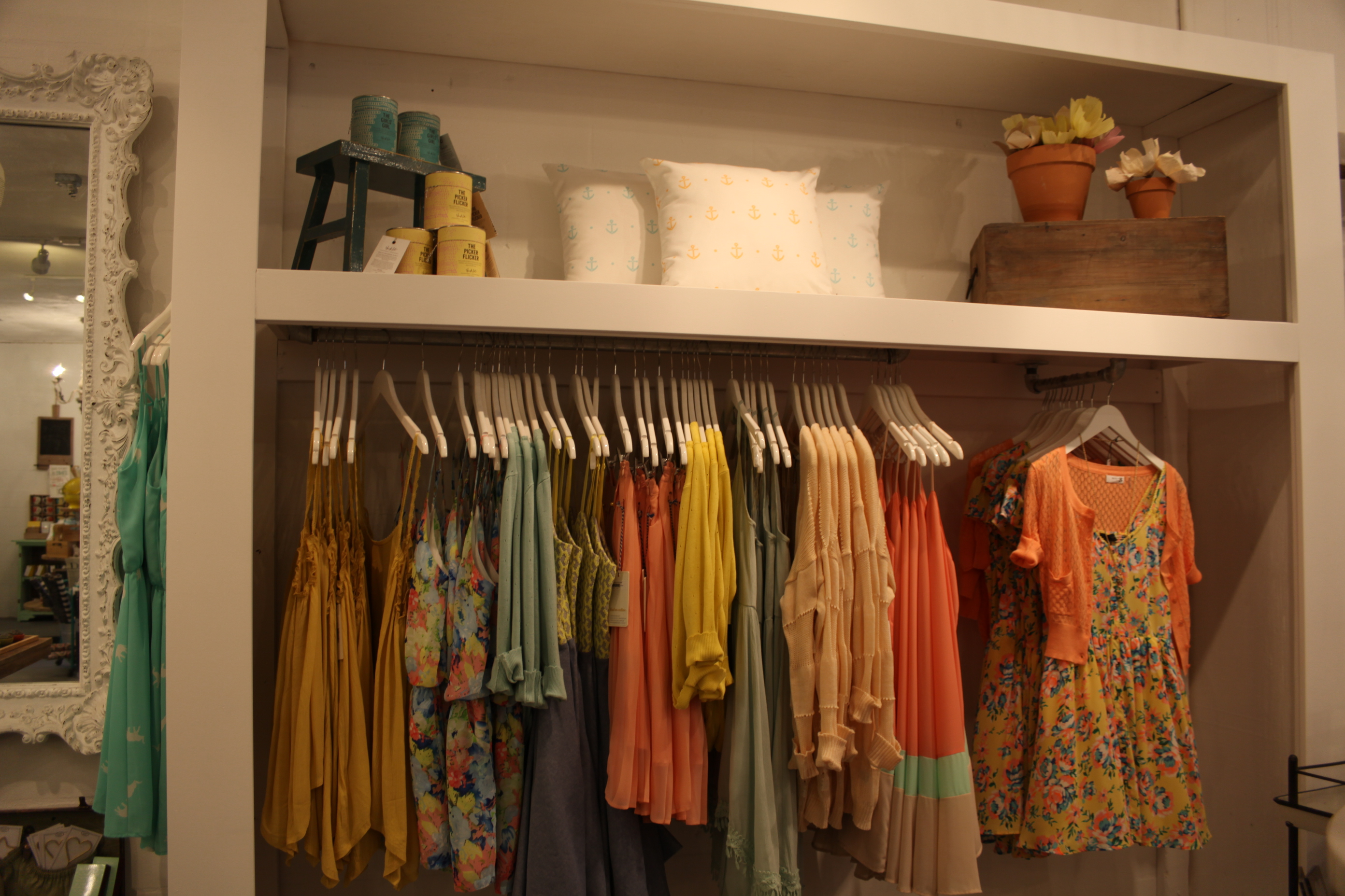 Spring fashions are available at Declaration & Co. The Market Place, 62 San Marco Ave., in uptown St. Augustine.