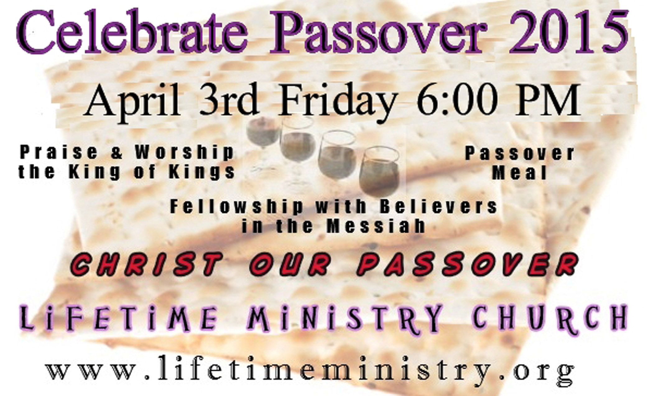 Passover Celebration 2015 Celebrate Passover 2015 April