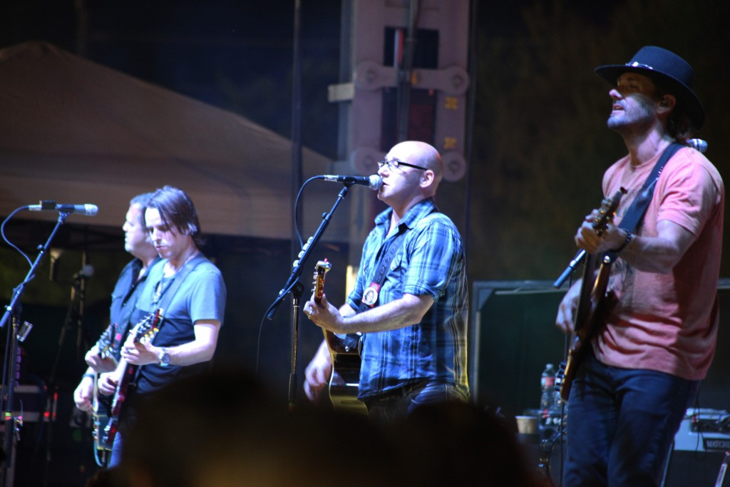 Sister Hazel performs at the Rhythm & Ribs Festival in 2014. The band will return to headline the 2015 festival on Saturday, April 11 at Francis Field in downtown St. Augustine. Photo by Renee Unsworth
