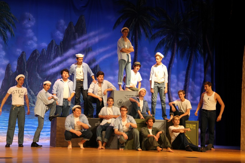 South Pacific is staged April 30-May 3 at St. Augustine High School April 30-May 3. More than 40 students in the St. Johns County Center for the Arts perform in this production.