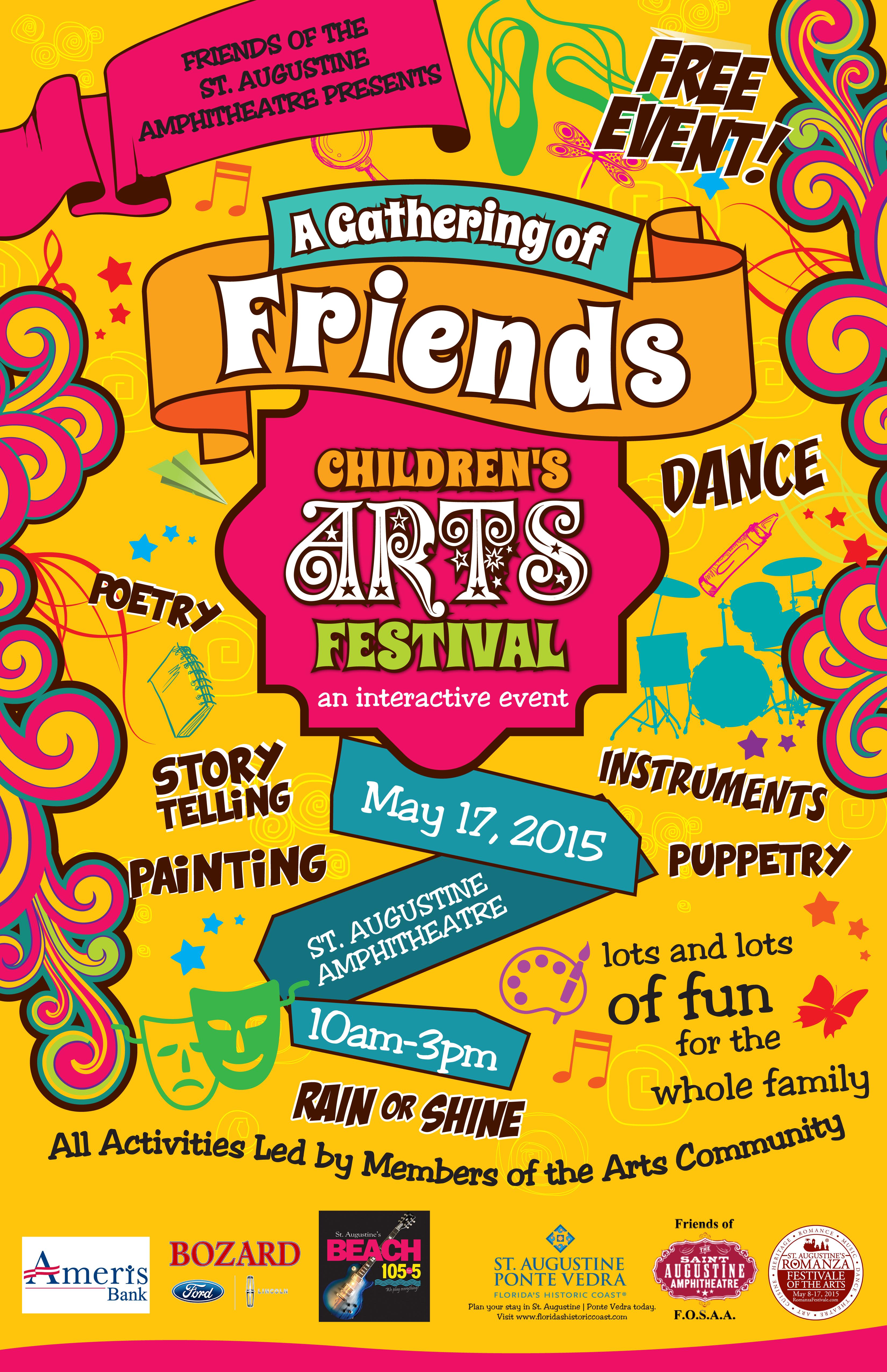FOSAA Childrens Art Festival 2015 11x17 v3