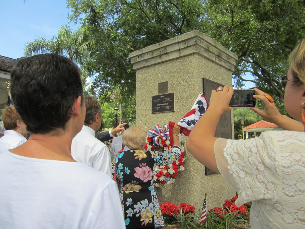 Fallen Remembered During Plaza Memorial Day Rites