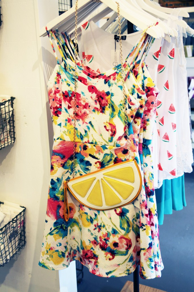Fun summer clothing and accessories are available at Declaration & Co. The Marketplace, 63 San Marco Ave., in uptown St. Augustine. Photo by Renee Unsworth