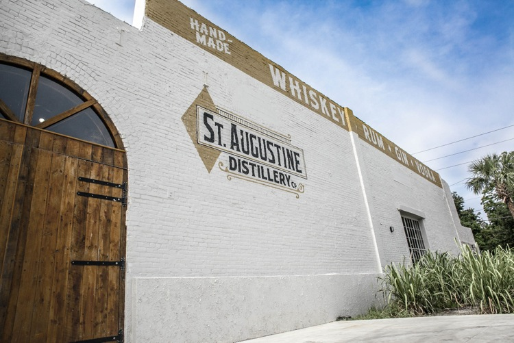 St. Augustine Distillery owners, Philip McDaniel and Mike Diaz, have been working diligently toward changing the laws associated with craft distilleries selling products on-site to their customers. Photo by Kevin McDonald