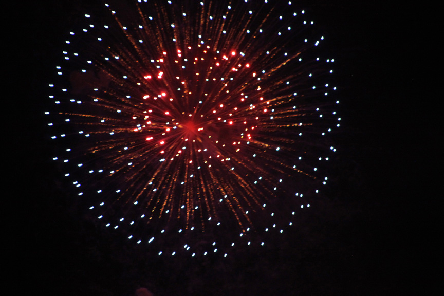 Fireworks will begin at 9:30 p.m. Saturday, July 4 near the bayfront in downtown St. Augustine. Photo by Renee Unsworth