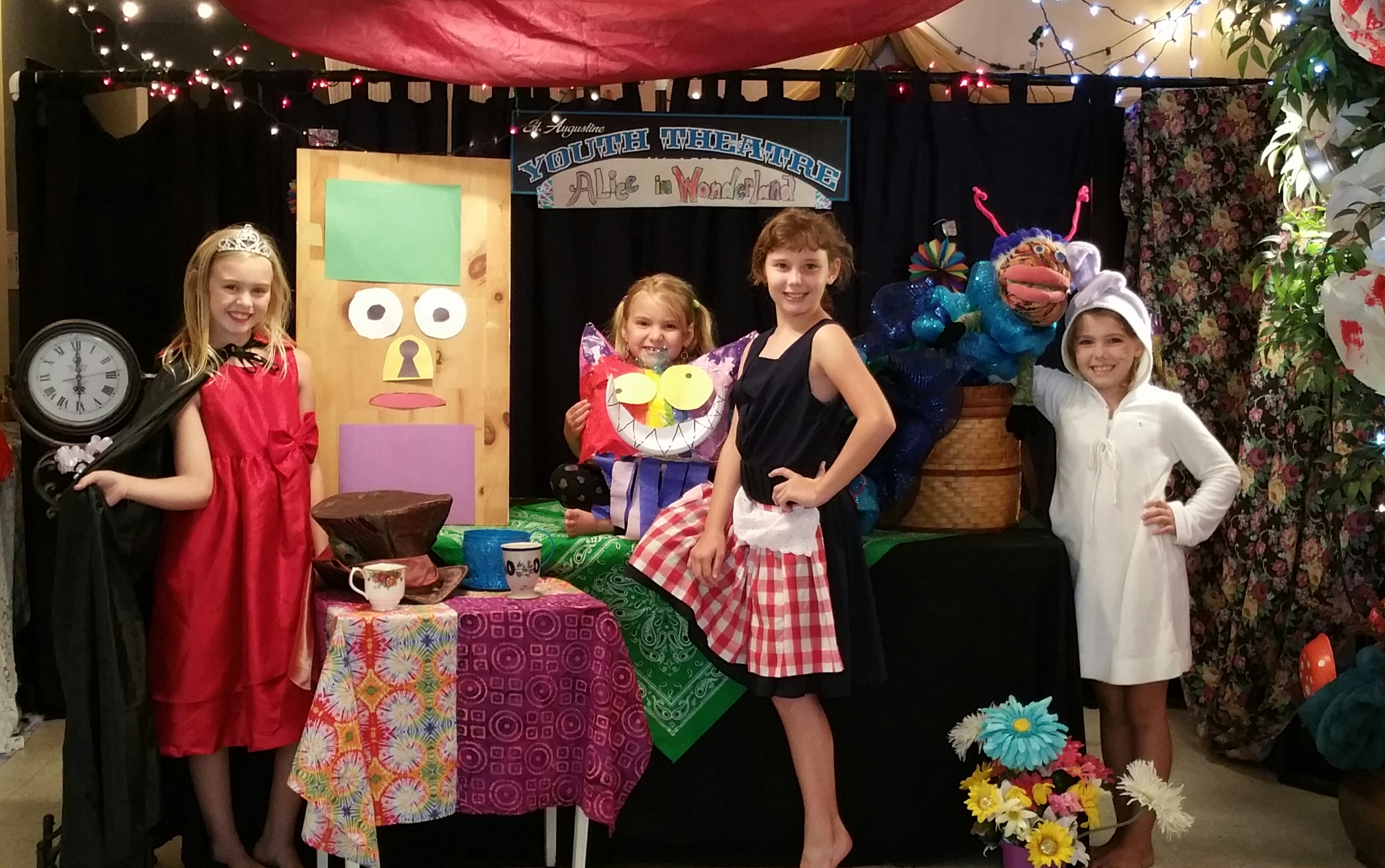 Alice in Wonderland will be staged at 2 p.m. July 25-26 at Rock Art Studio, 1333 Old Dixie Hwy. Contributed image