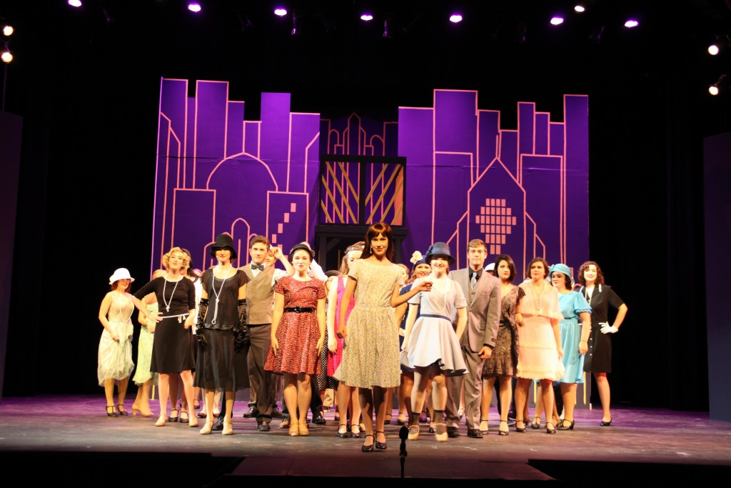 The cast of Thoroughly Modern Millie, on stage at 7:30 p.m. July 21 and Aug. 1 in Lewis Auditorium at Flagler College, 14 Granada St., downtown St. Augustine. Photos by Renee Unsworth