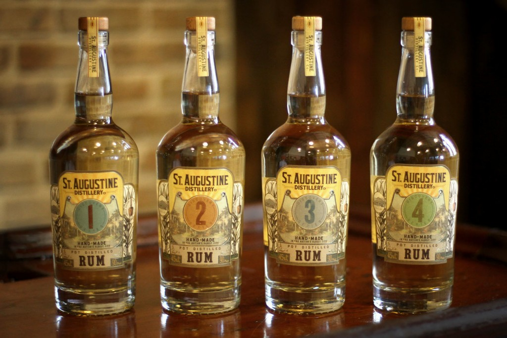 The St. Augustine Distillery will release rum on Sept. 2, 2015. Contributed photo