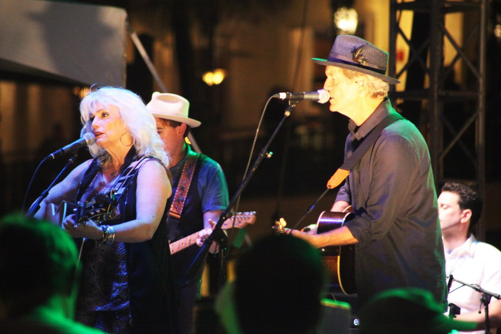 Emmylou Harris and Rodney Crowell headline the main stage on Saturday, Sept. 5 during Celebrate 450!