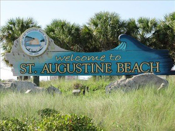 Welcome to St. Augustine Beach