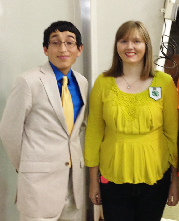 Javier Bermeo and Ashley Wibbing.