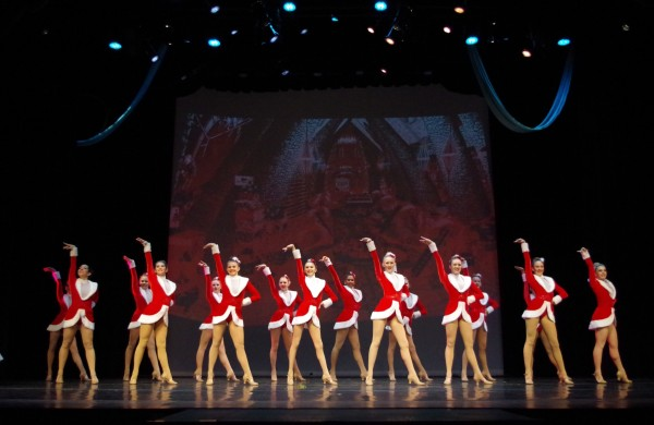 A scene from the 2014 St. Augustine Winter Spectacular dance show by The Dance Company. Photo by Jana Knox Vallone, LoveCountry Photography & Designs