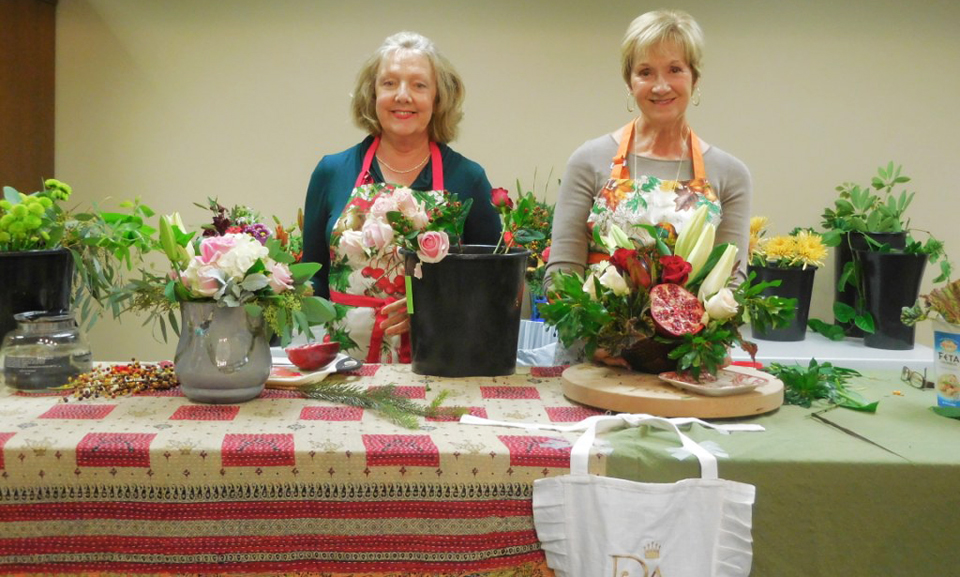 Marilyn Smith and Cathy Snyder of Sisterhood of Traveling Plants. Contributed photos