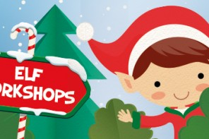 Nov. 28: Elf Workshop, free family fun, and Elf movie at St. Augustine Amphitheatre