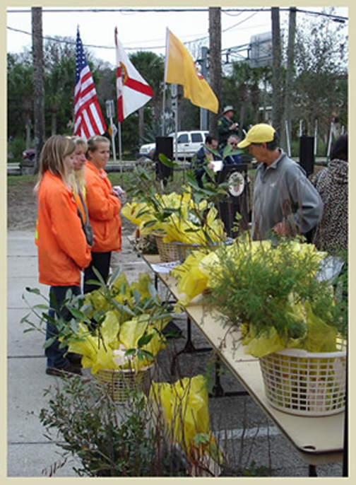 Jan. 15: FREE trees during Arbor Day celebrations in St. Augustine