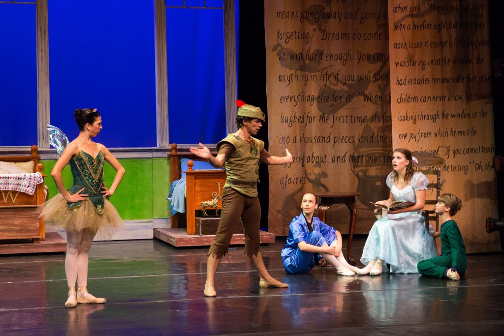 A scene from the 2015 Peter Pan by Saint Augustine Ballet. The dance program will be on stage May 14-15 in Lewis Auditorium at Flagler College. Photo by Julie Abella