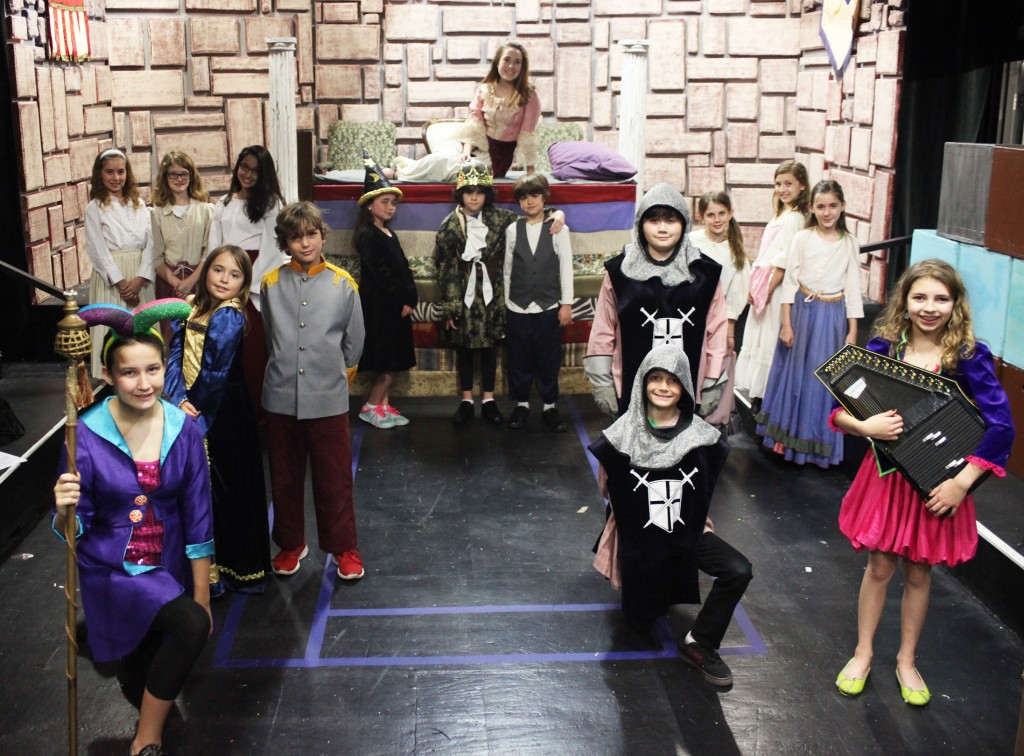 The cast of Once Upon A Mattress, on stage at 5 p.m. Friday, March 25; and 11 a.m. and 3 p.m. Saturday, March 26 at Limelight Theatre. Photo by Renee Unsworth
