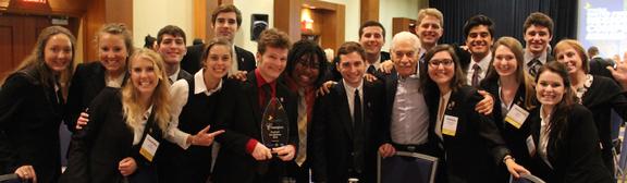 Flagler College Enactus team at regionals.
