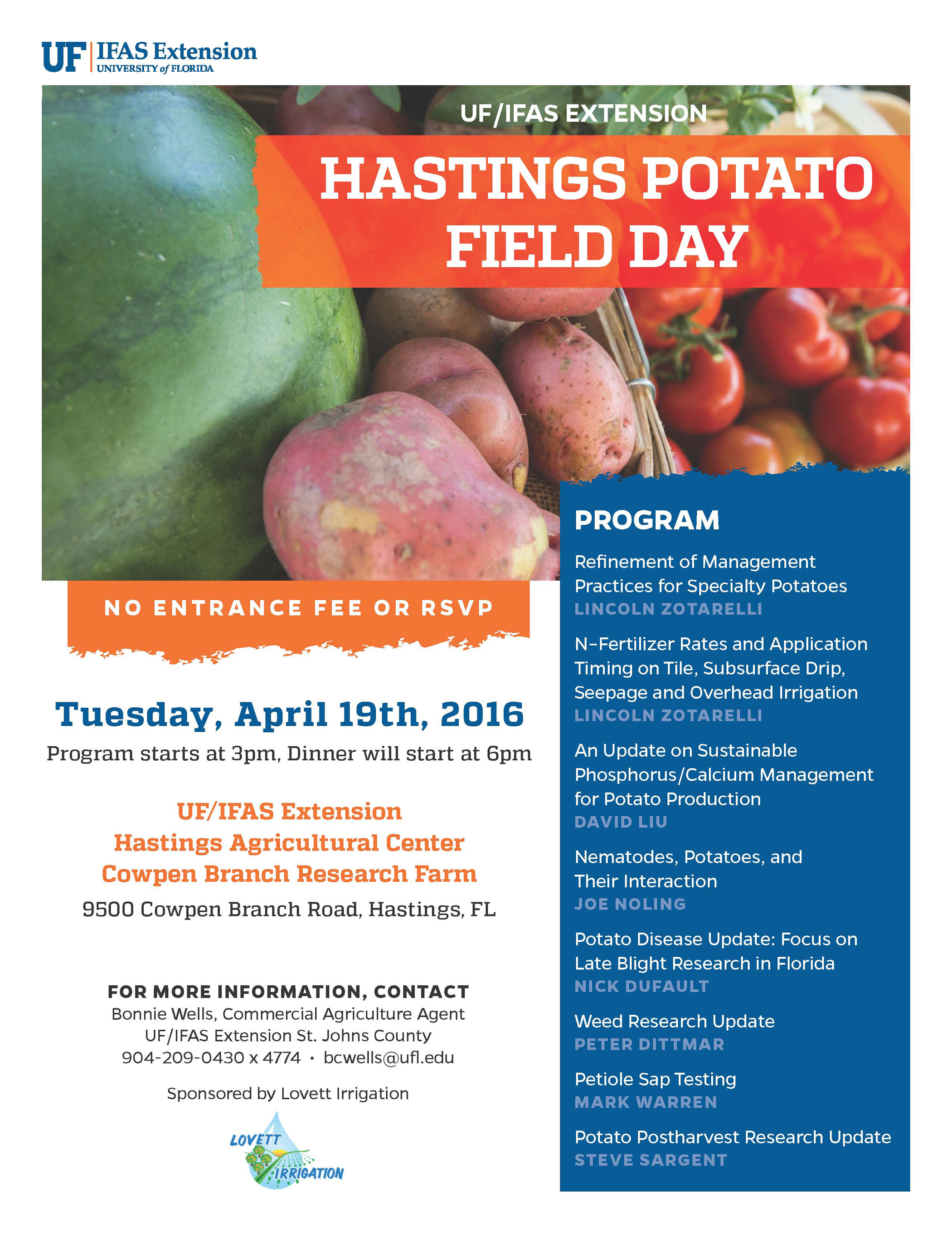 Hastings Potato Field Day 2016