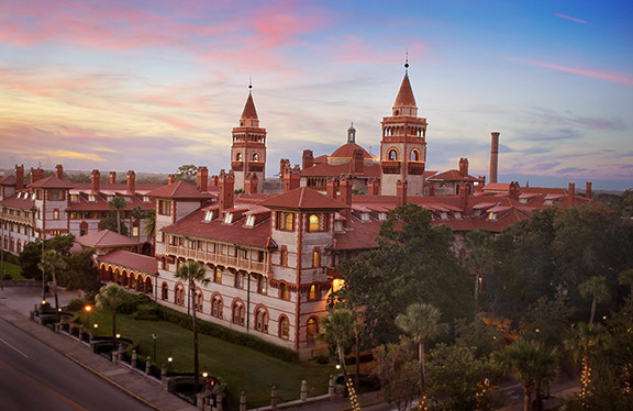 South Face of Flagler College